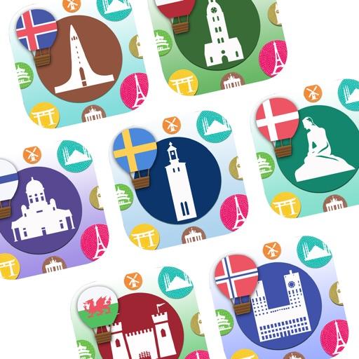 Unlock 7 North European Languages for 500 Cards