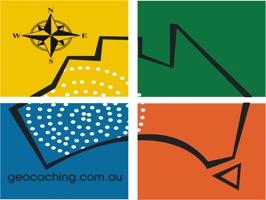 Geocaching Australia stickerpack