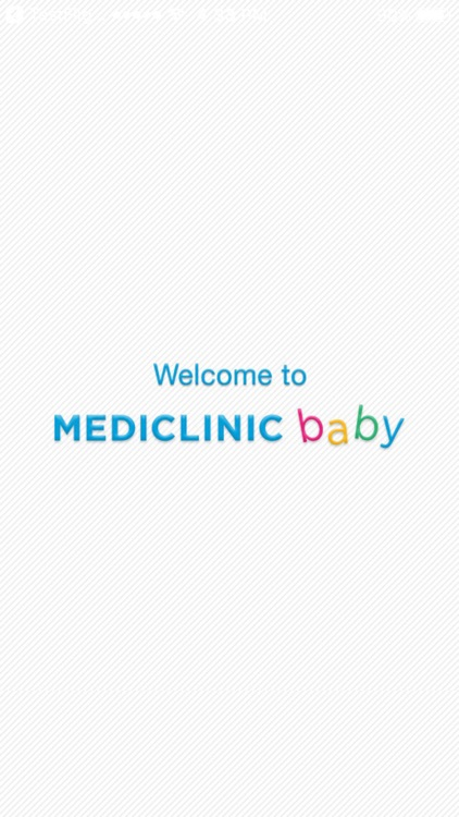 Mediclinic Baby - Baby App screenshot-0