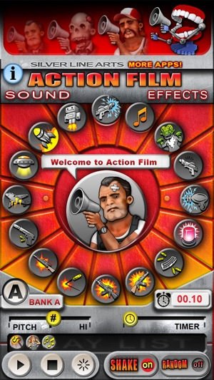 Action film sound effects