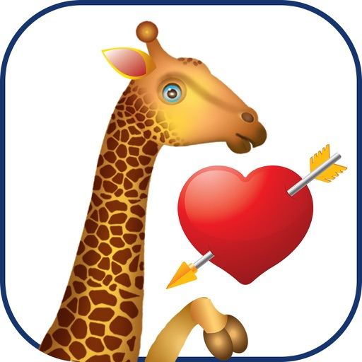 Giraffe Cam- Baby Giraffe Stickers