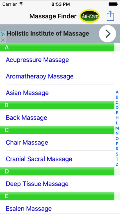 Massage Finder: Find In Home & Mobile Therapist