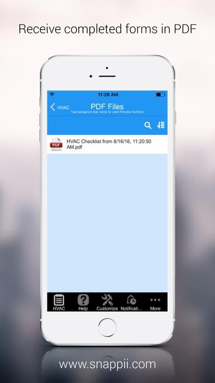 HVAC Inspection Checklist screenshot-4