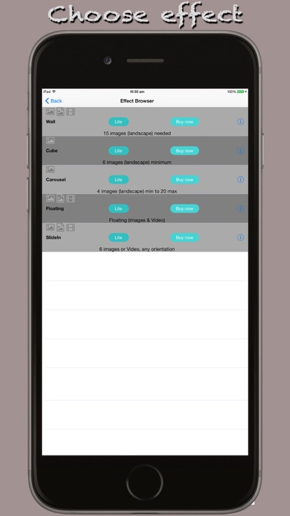 iStitch movie maker screenshot-0