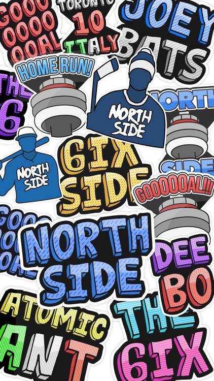 Toronto Stickers - The 6ix