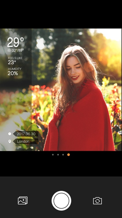 Weather Camera Sticker-Photo & picture watermark screenshot-4