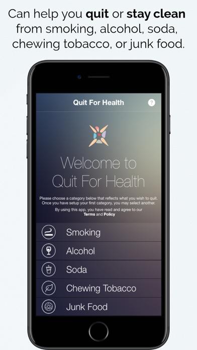Quit For Healthのおすすめ画像1