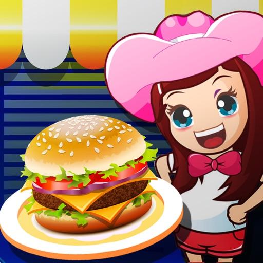 Cooking Food Maker burger(for Girls)