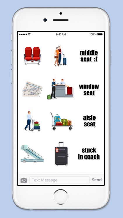 Airport Travel Sticker Pack screenshot-4