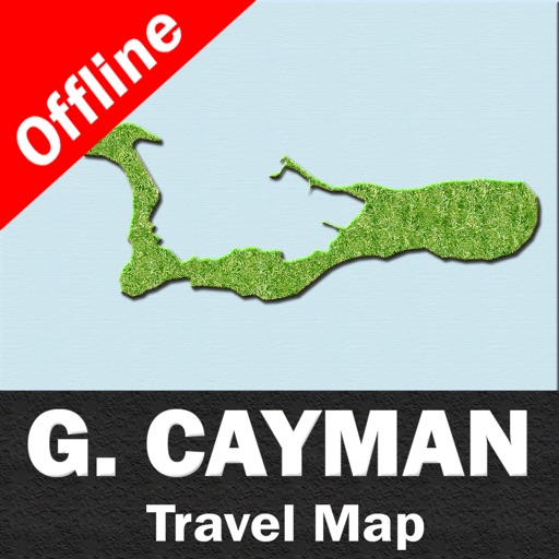 GRAND CAYMAN – GPS Travel Map Offline Navigator