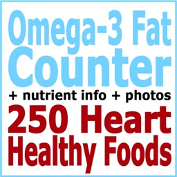 Omega-3 Counter and Tracker for Healthy Food Diets