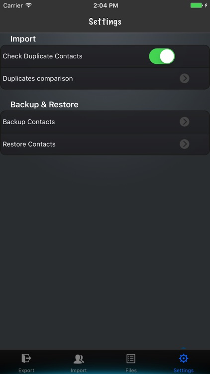 Contacts to vCard Lite screenshot-4