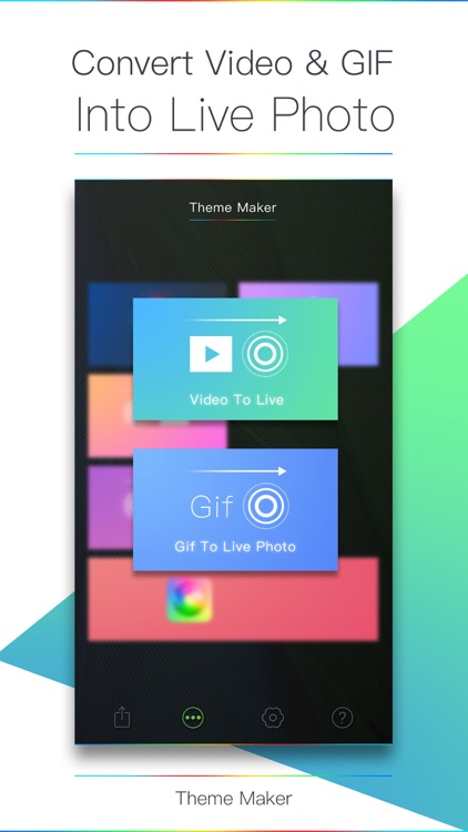 Theme Maker - Live Photo Maker
