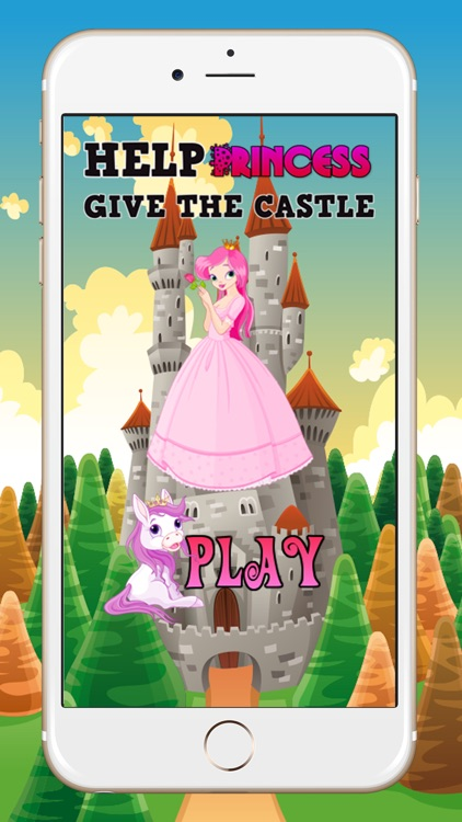 Help Princess and Fairy Give The Castle