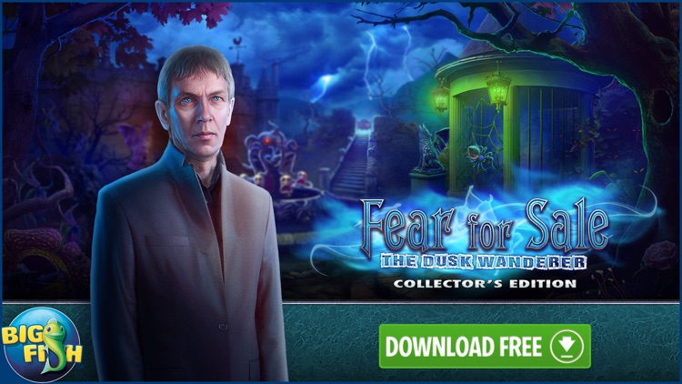 Fear for Sale: The Dusk Wanderer - Hidden Objects screenshot-4