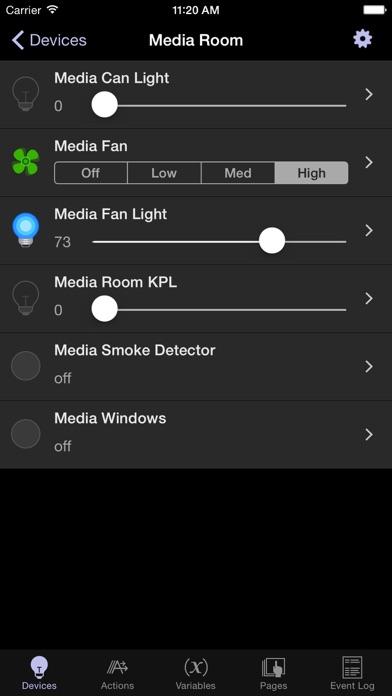 Indigo Touch screenshot one