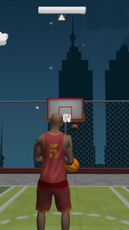 Crazy Rooftop Basketball Match app image