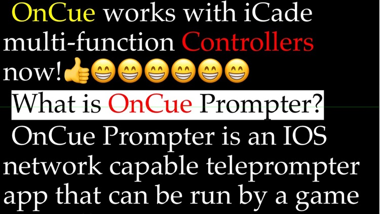 OnCue Prompter