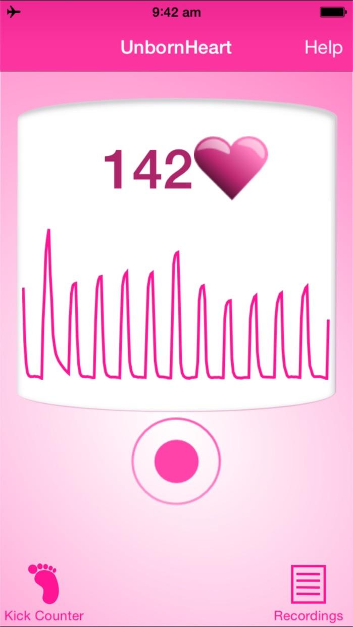 Fetal Doppler UnbornHeart Screenshot
