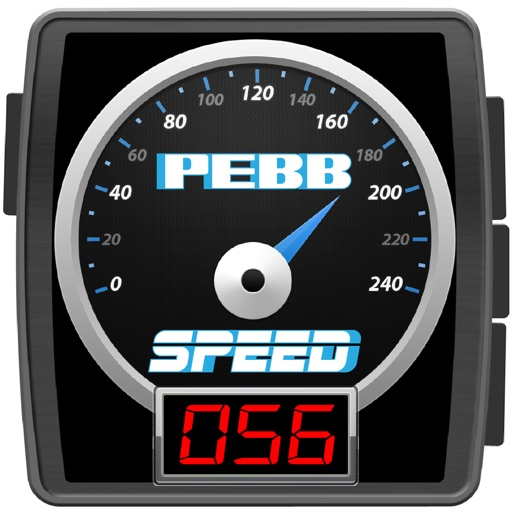 PebbSpeed-Speedometer and Speed Alert for Pebble