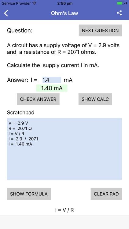 Electronics Questions screenshot-4