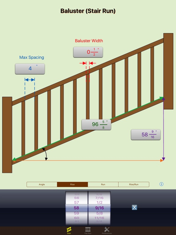 Delicieux ... Screenshot #3 For Baluster Calc Elite   Spindle Spacing For Railing ...