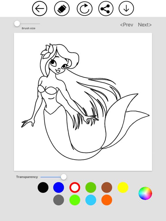 Mermaid Coloring screenshot 10