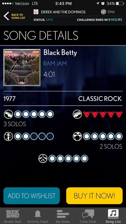 Rock Band Companion screenshot-4