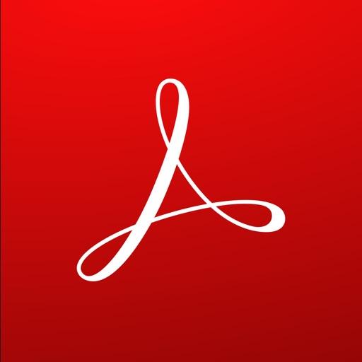 Adobe Acrobat Reader: View, Create, & Convert PDFs app logo
