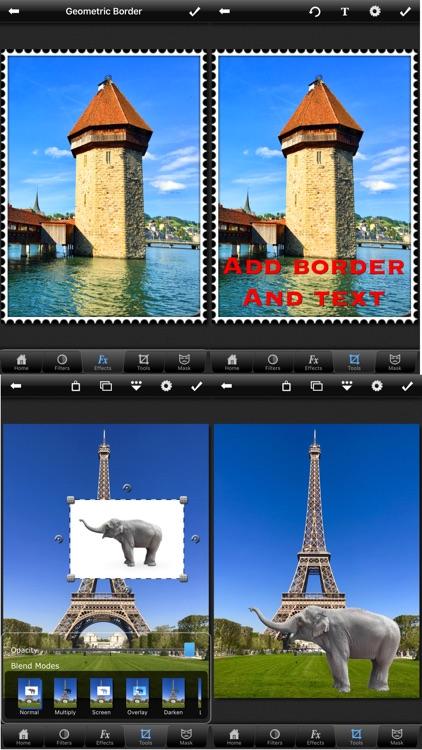 PhotoWizard Lite - Photo Editor screenshot-4
