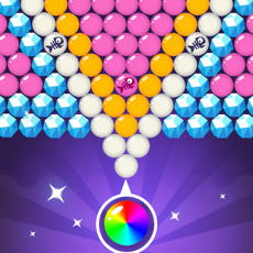 Activities of Bubble Shooter Cat - Eat The Fish Bubbles