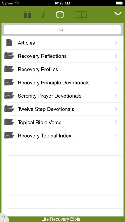 Life Recovery Bible screenshot-2