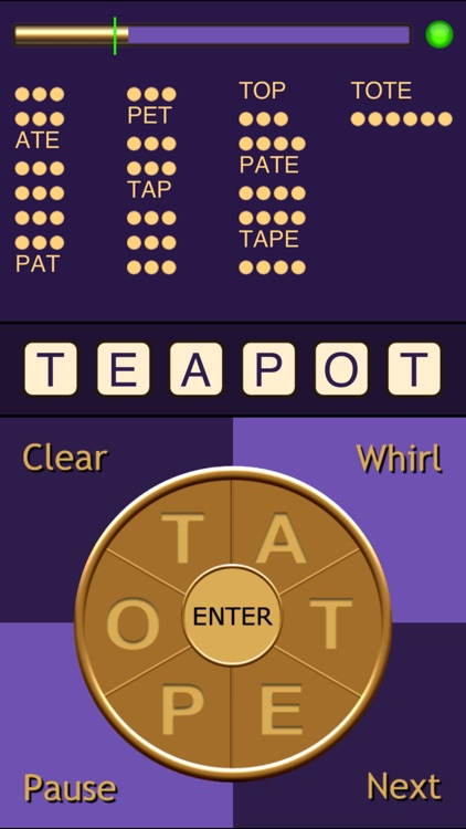 Whirly Word (Free) screenshot-3