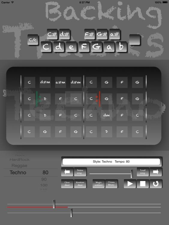 Techno Backing Tracks Creator Pro screenshot-4