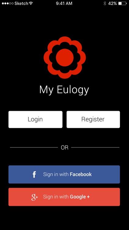 Record My Eulogy