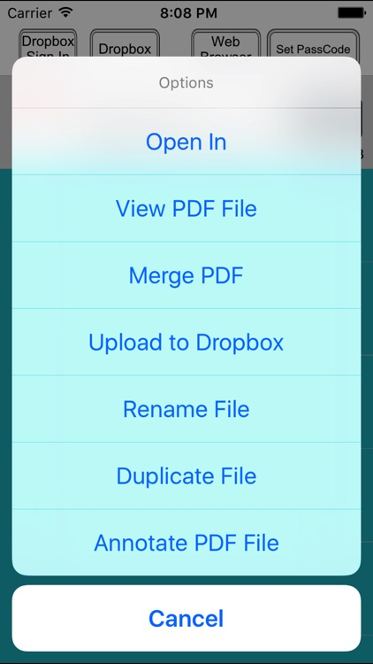 Webpages to PDF Converter screenshot-3