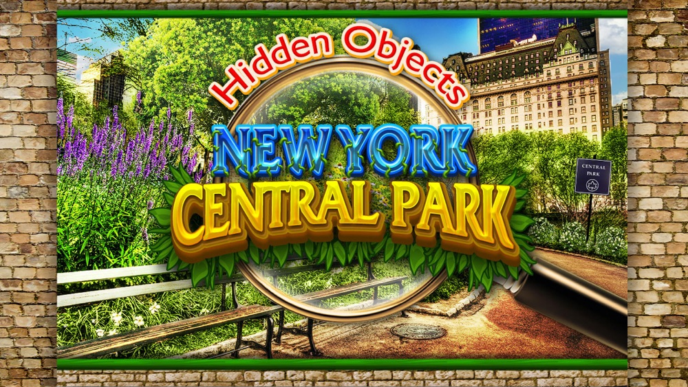 Hidden Objects Central Park New York City Gardens Cheat Codes