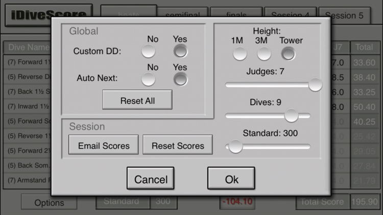 iDiveScore screenshot-1