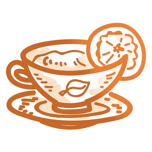 Tea time! iMessage stickers