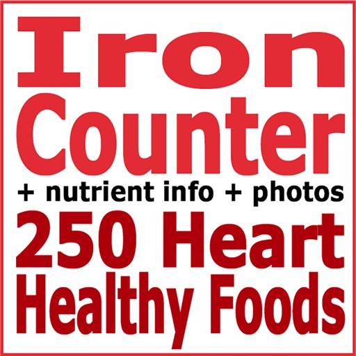 Iron Counter and Tracker for Healthy Food Diets