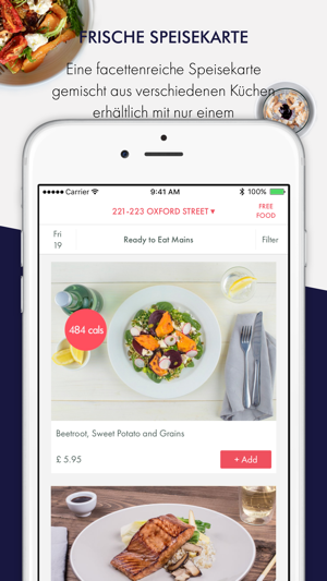 EatFirst Screenshot