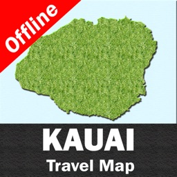 KAUAI – GPS Travel Map Offline Navigator