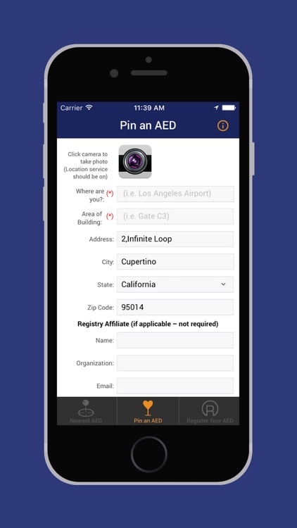 AED Registry screenshot-3