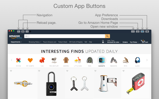 iBuy from Amazon on the MacAppStore