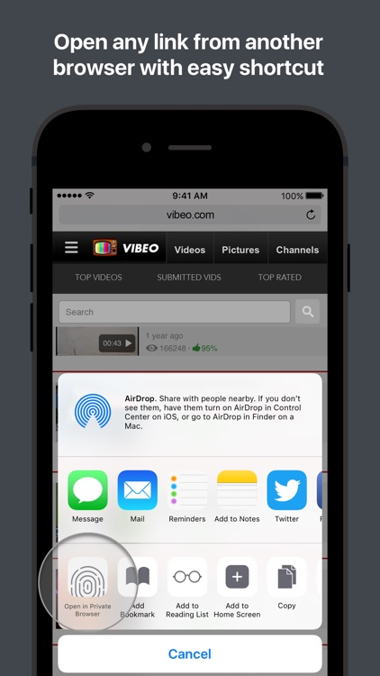 Secure Browser & File Manager screenshot-3