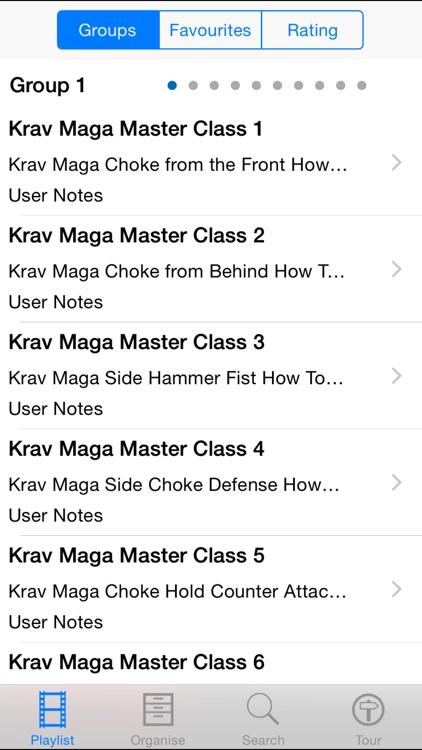Krav Maga Master Class