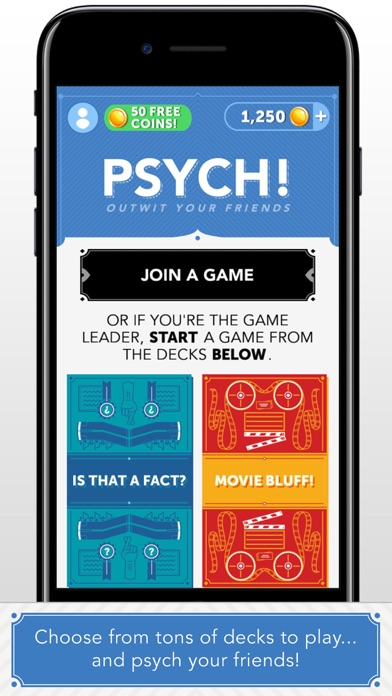 Psych! Outwit Your Friends Screenshot