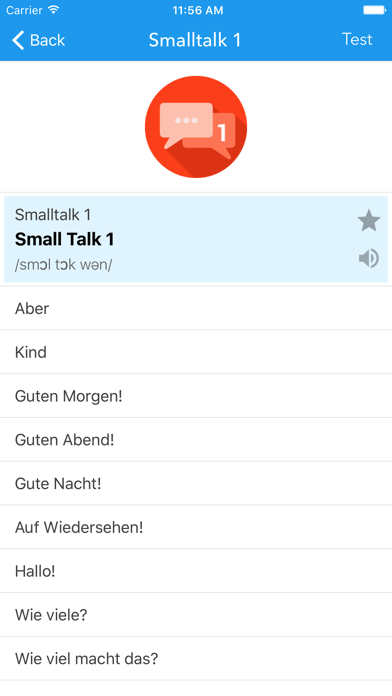 SpeakUP German-English screenshot two