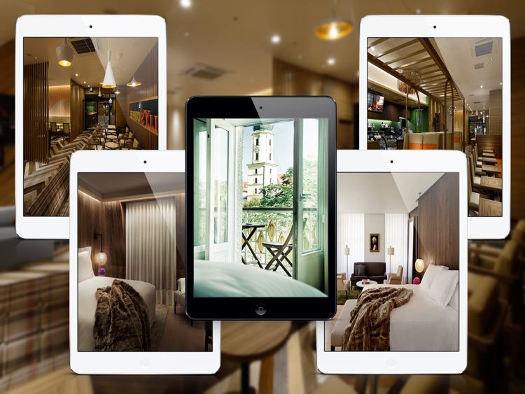Modern Hotel & Restaurant Design Ideas for iPad screenshot-3