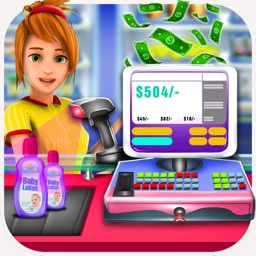 Grocery Store Cash Register - Time Management Game